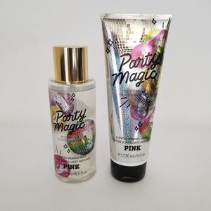 Nwb, Pink Victoria Secret lotion and spray